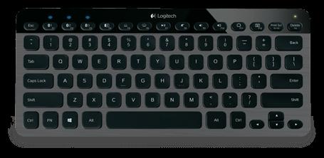 Logitech: Bluetooth Illuminated Keyboard K810